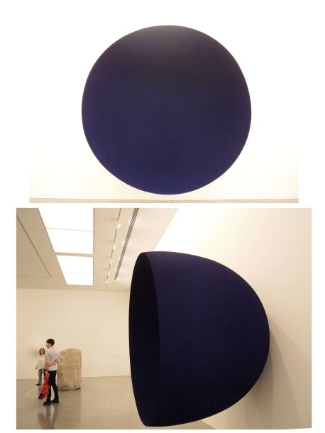 Anish Kapoor Void, 1989 fibreglass, pigment. Image courtesy and © the artist. Photograph: Dave Morgan